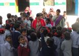 Director ART on the occasion of children day at PS Nanoorkheda, Dehradun
